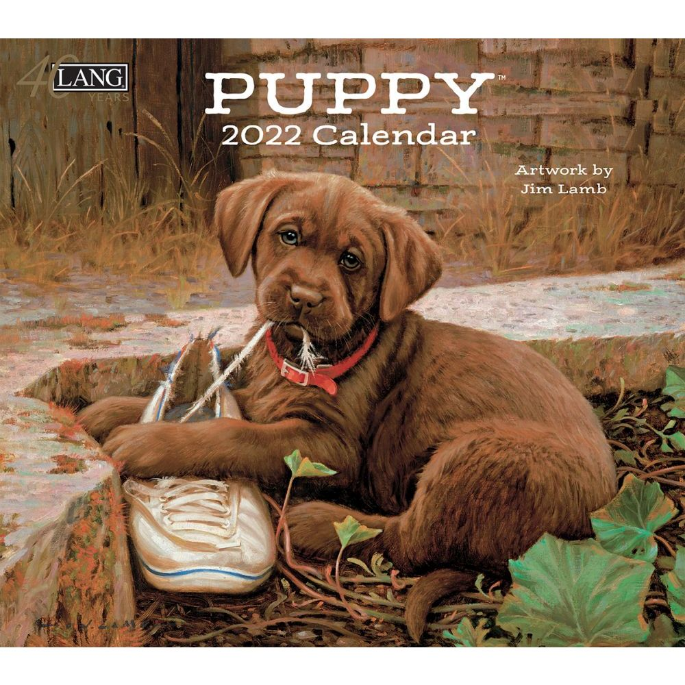 Puppy 2022 Wall Calendar