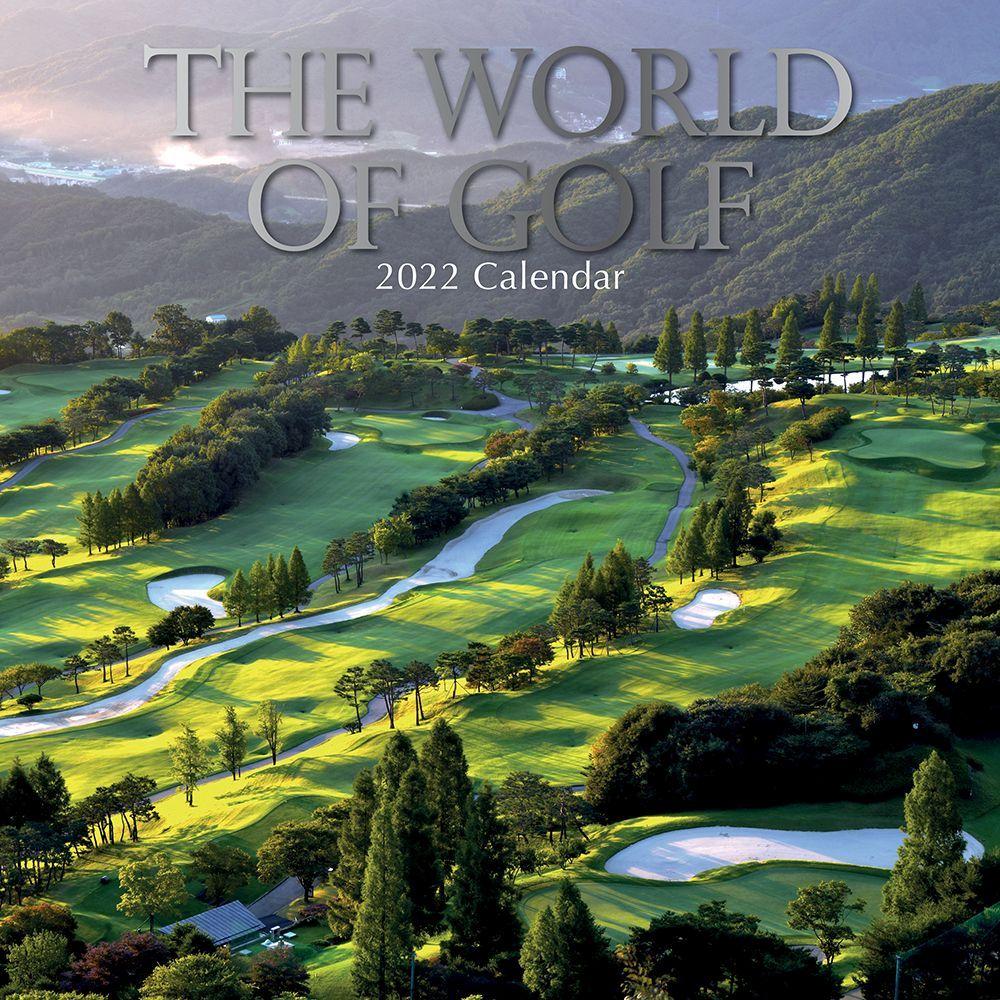 World of Golf 2022 Wall Calendar
