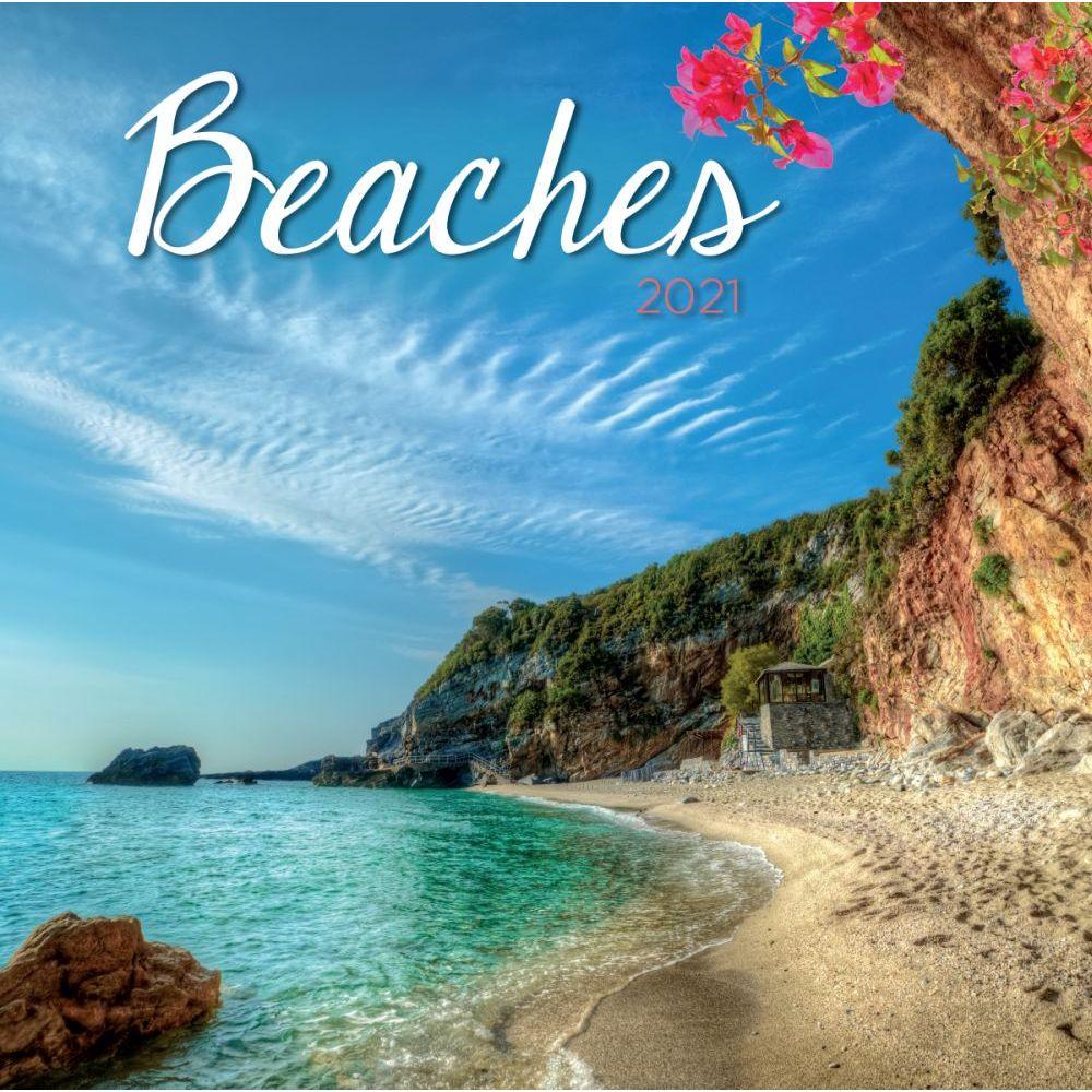 2021 Beaches Mini Wall Calendar