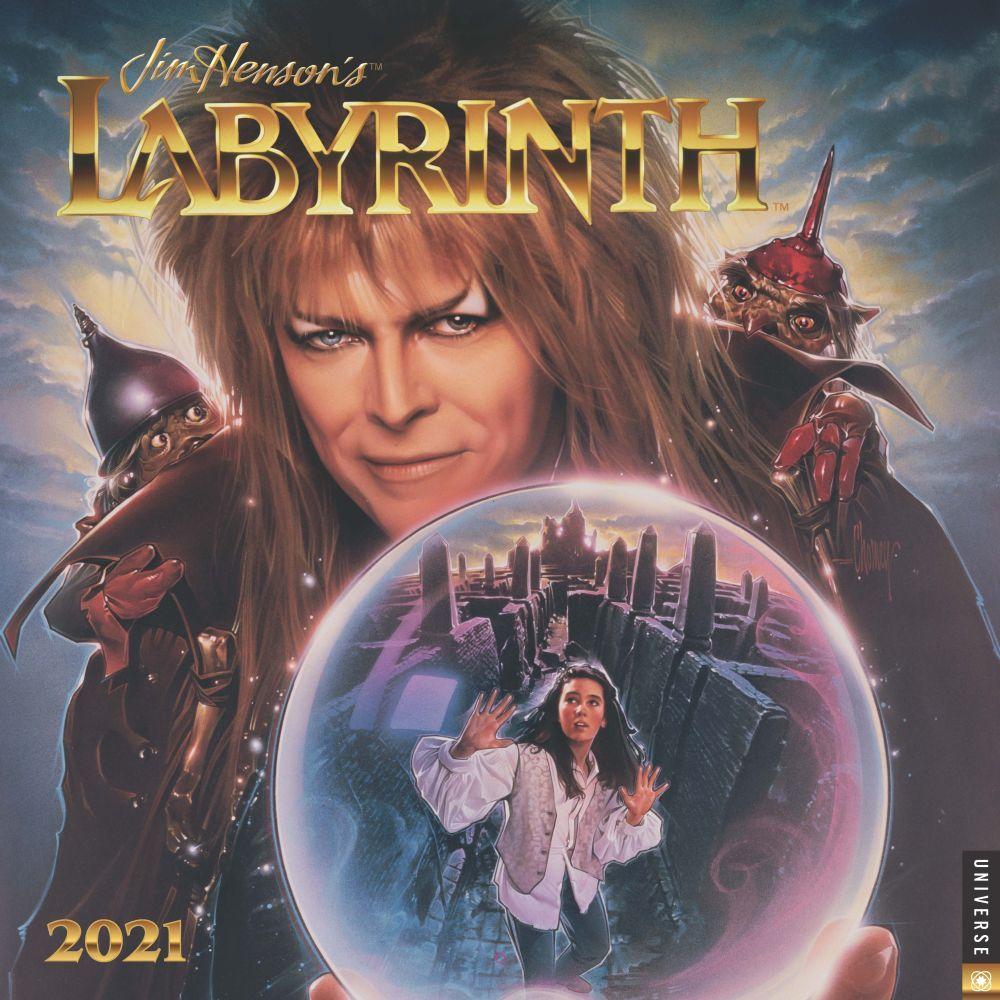 Top Labyrinth Wall Calendar