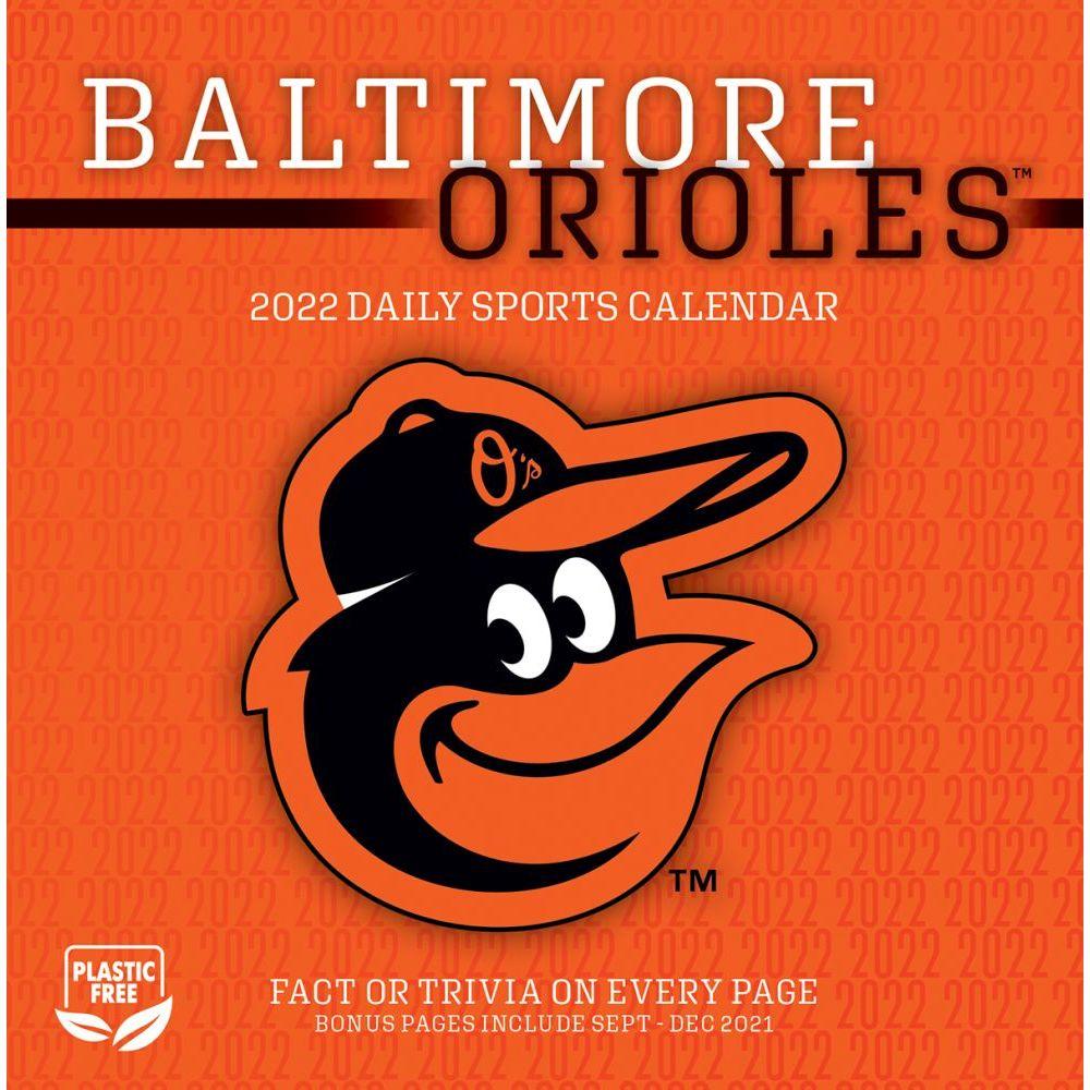 Baltimore Orioles 2022 Desk Calendar
