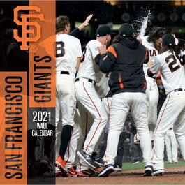 MLB San Francisco Giants Mini Wall Calendar
