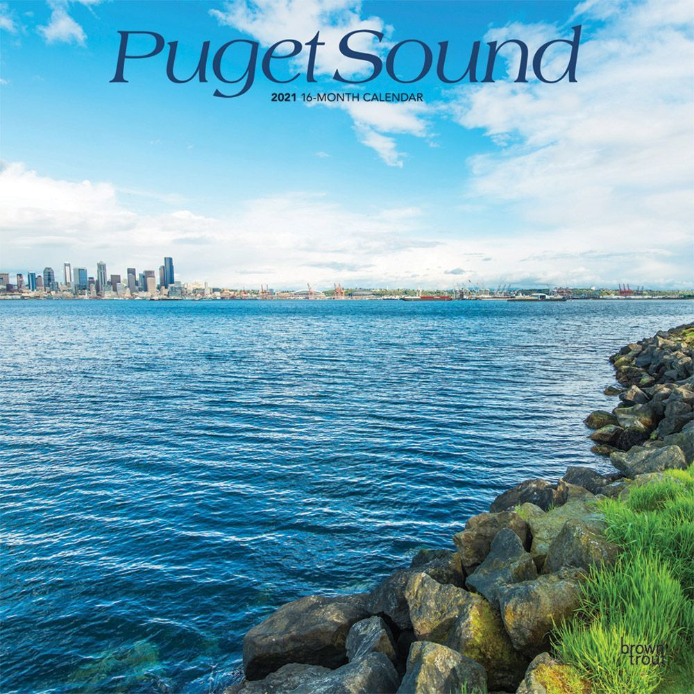 2021 Puget Sound Wall Calendar