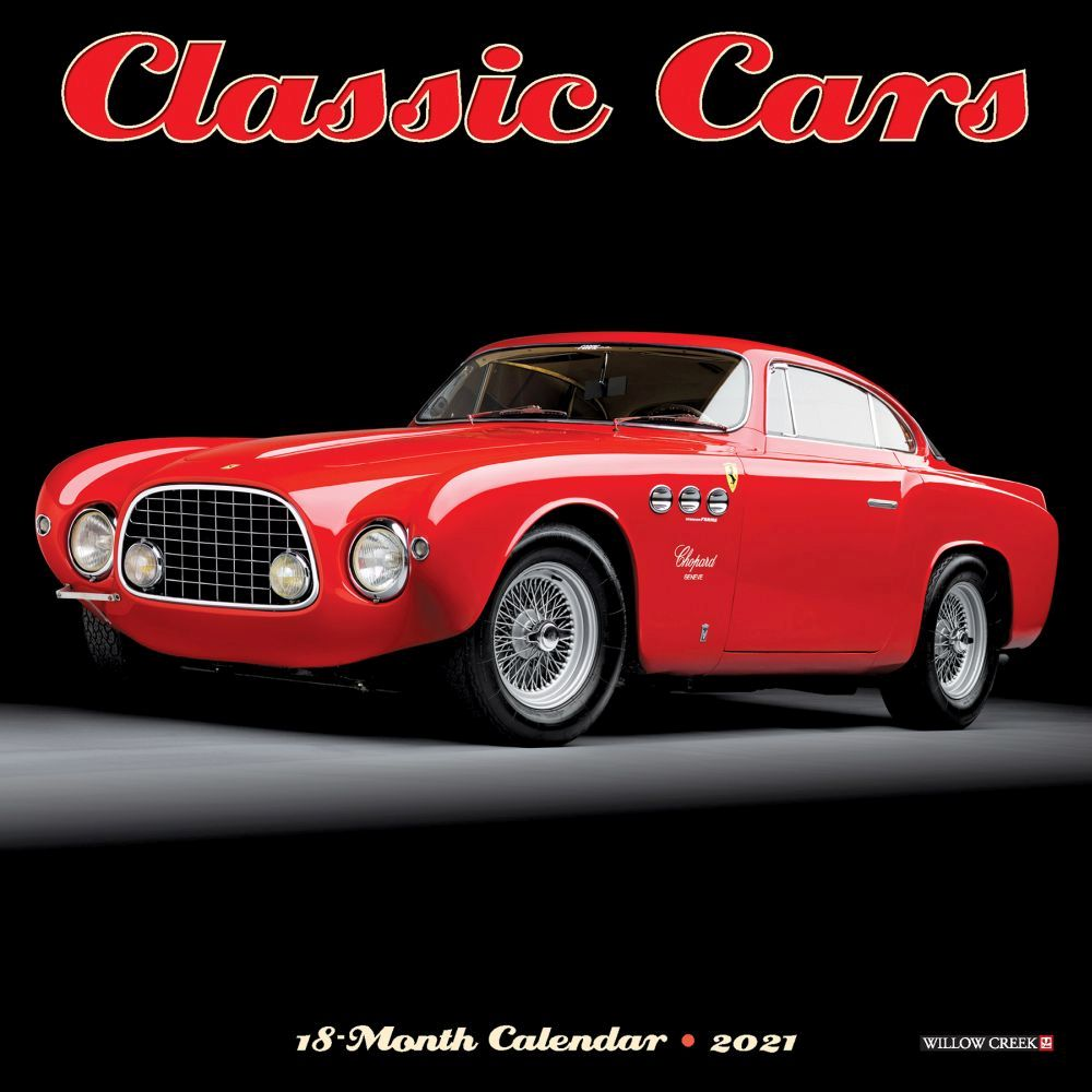 2021 Classic Cars Mini Wall Calendar