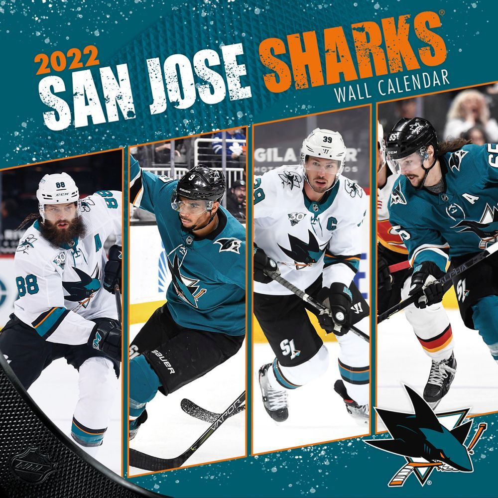 San Jose Sharks 2022 Wall Calendar