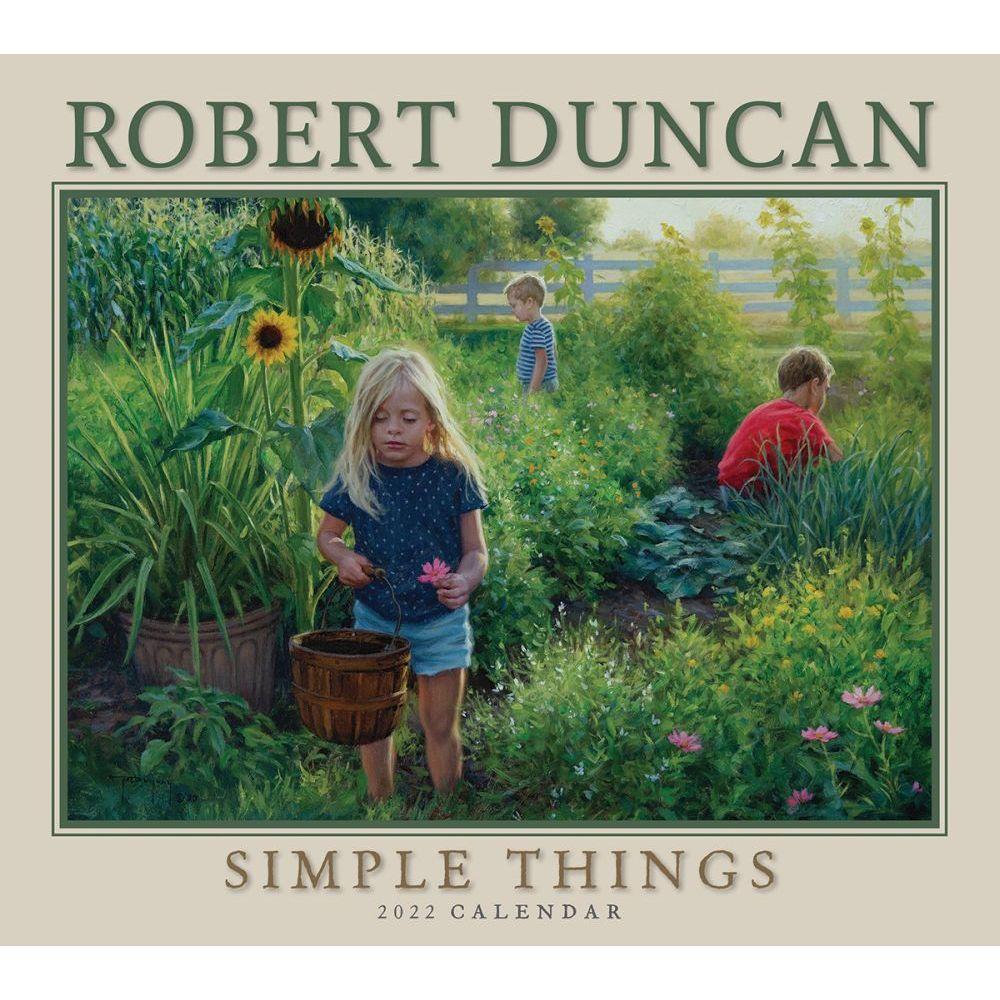 Robert Duncan Simple Things 2022 Deluxe Wall Calendar
