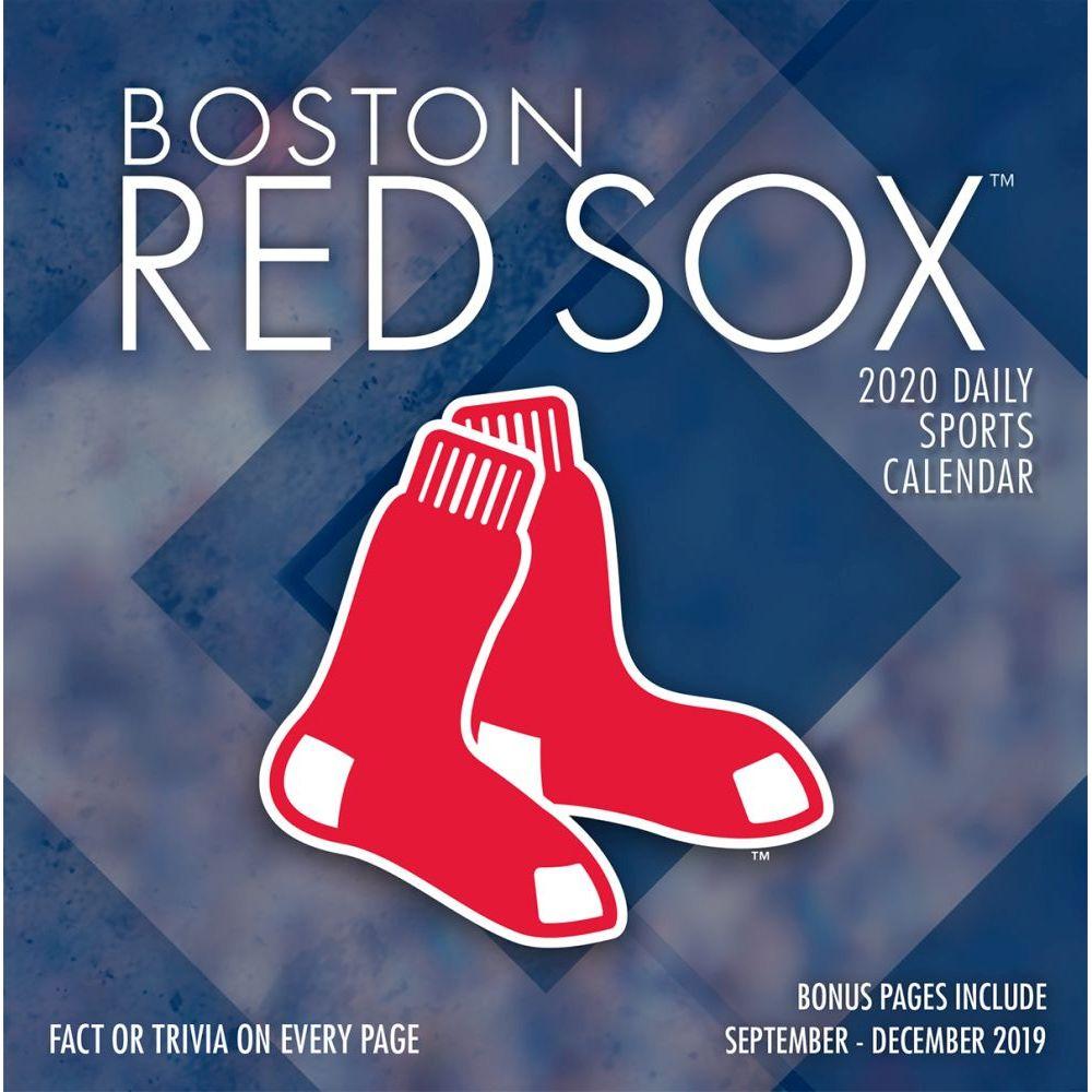 Boston Red Sox 2021 Desk Calendar