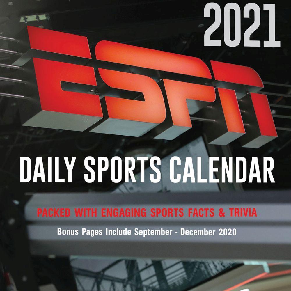 2021 ESPN Desk Calendar