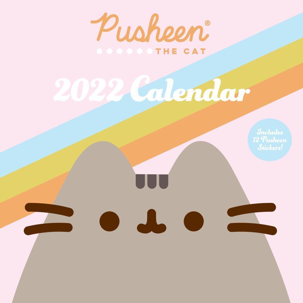 Pusheen 2022 Wall Calendar