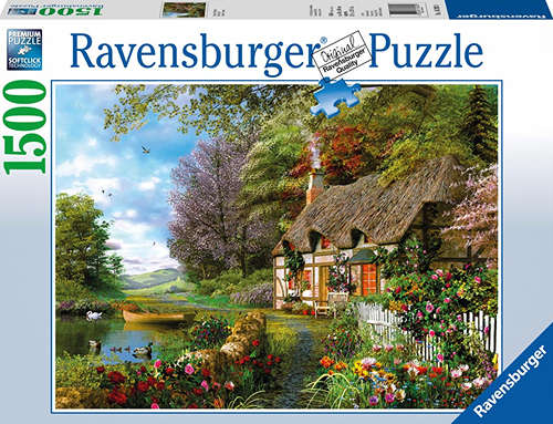Best Country Cottage 1500 Piece Puzzle You Can Buy
