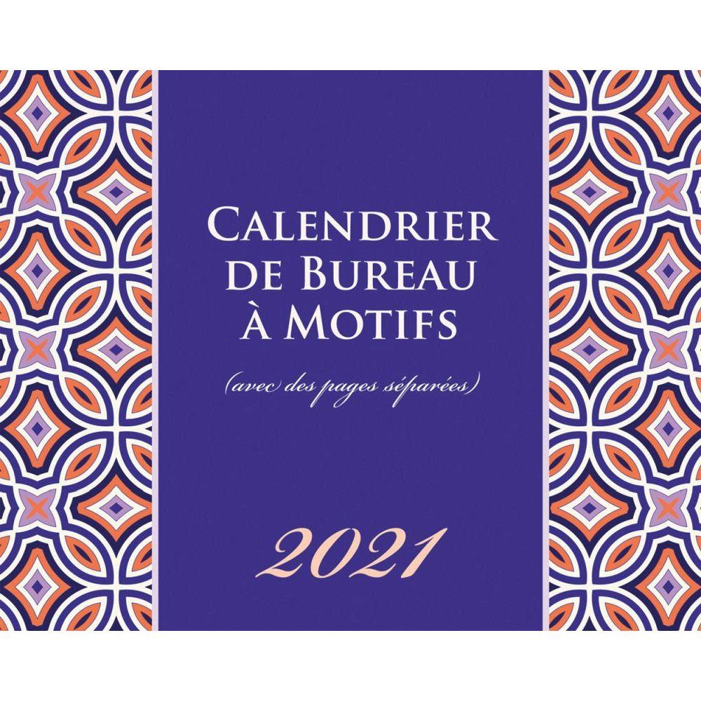 2021 Motifs Easel Calendar (French)