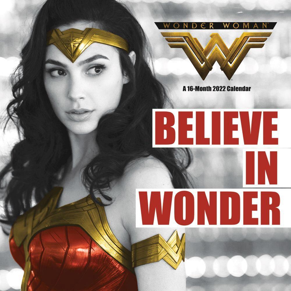 Wonder Woman 1984 2022 Wall Calendar