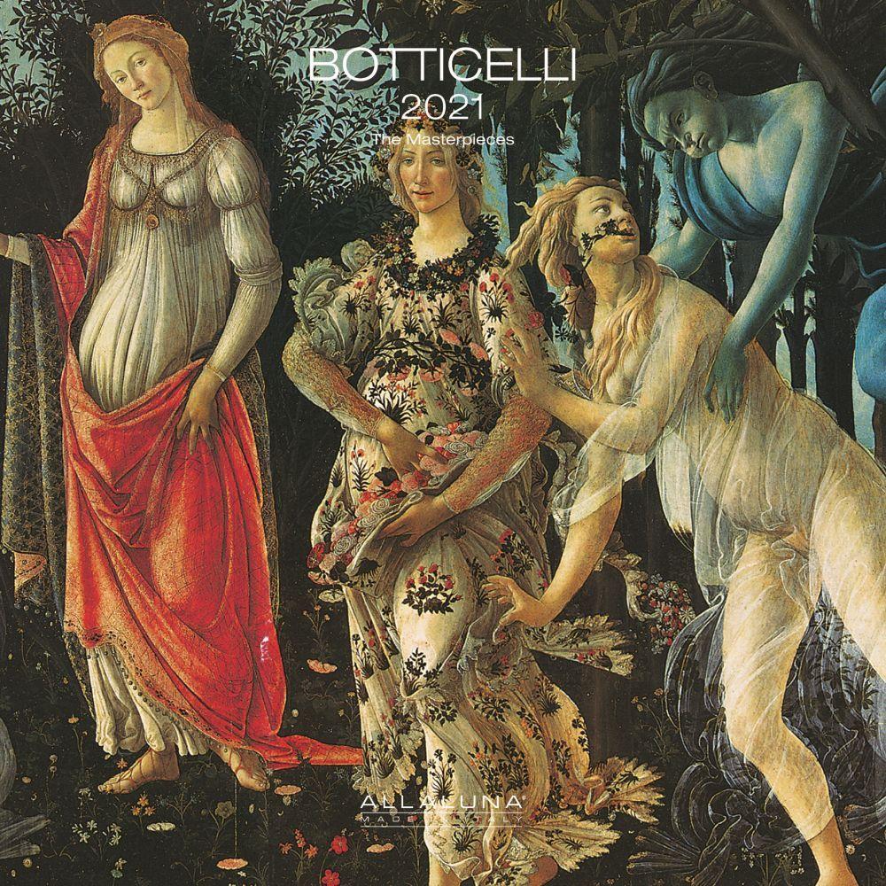 Botticelli 2021 Wall Calendar