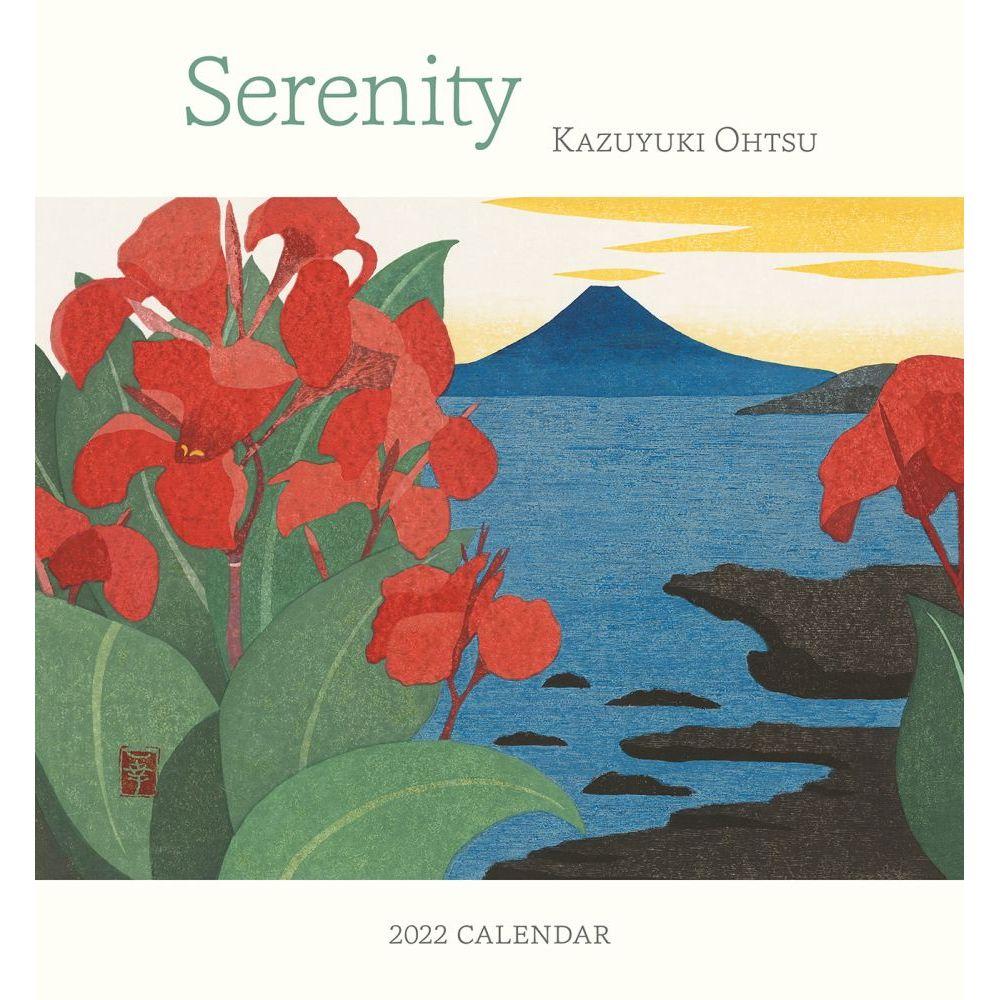 Serenity Ohtsu 2022 Mini Wall Calendar