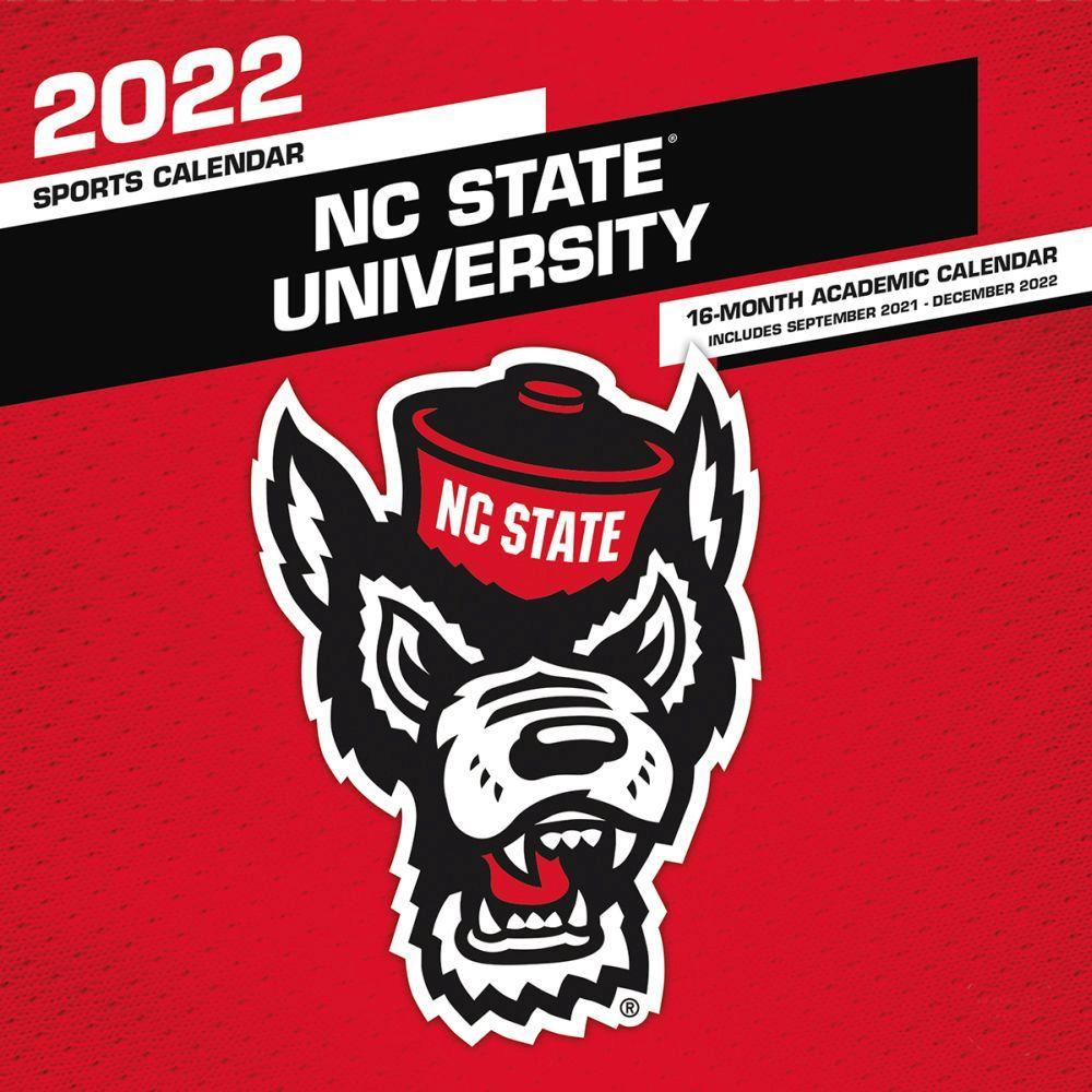 North Carolina State Wolfpack 2022 Wall Calendar