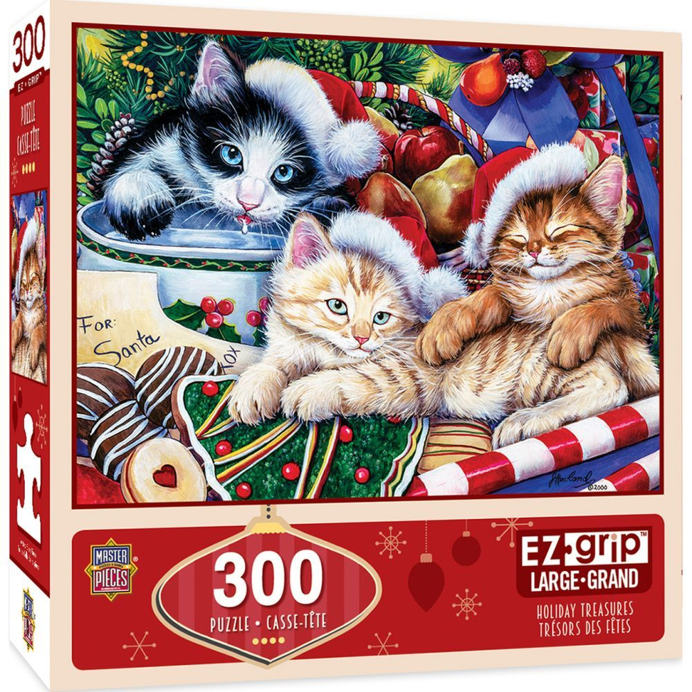 Best Holiday Treasures 300pc Puzzle You Can Buy