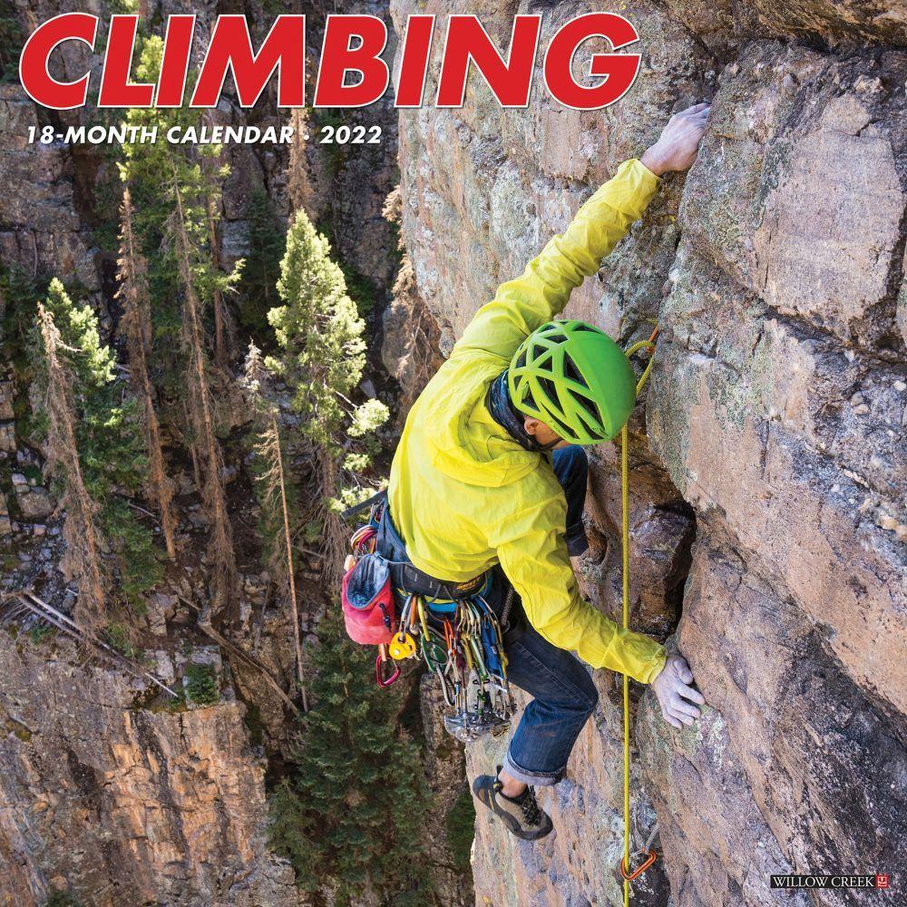 Rock Climbing 2022 Wall Calendar