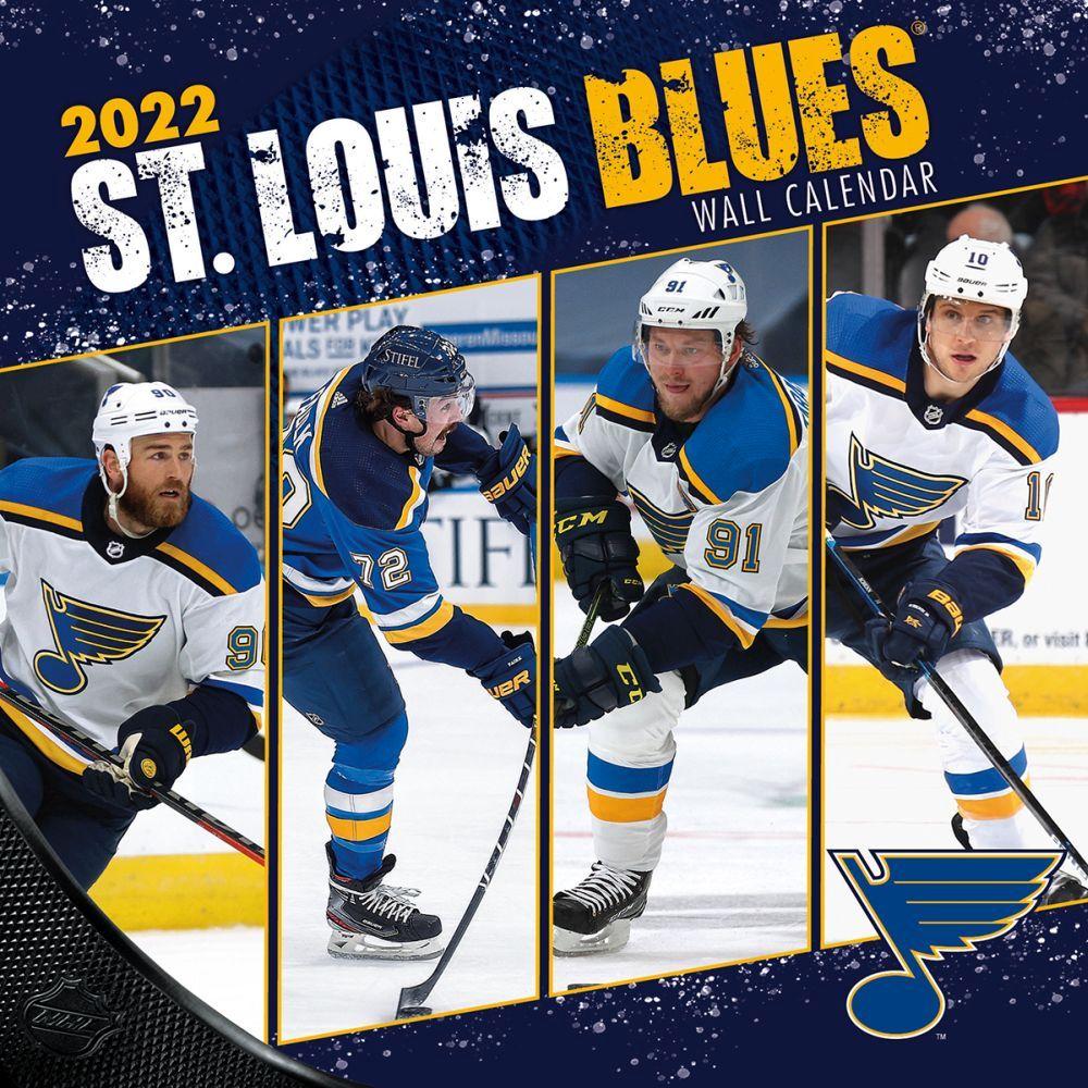 St. Louis Blues 2022 Wall Calendar