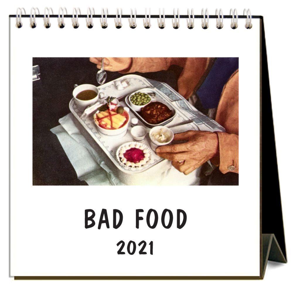 2021 Bad Food Easel Calendar