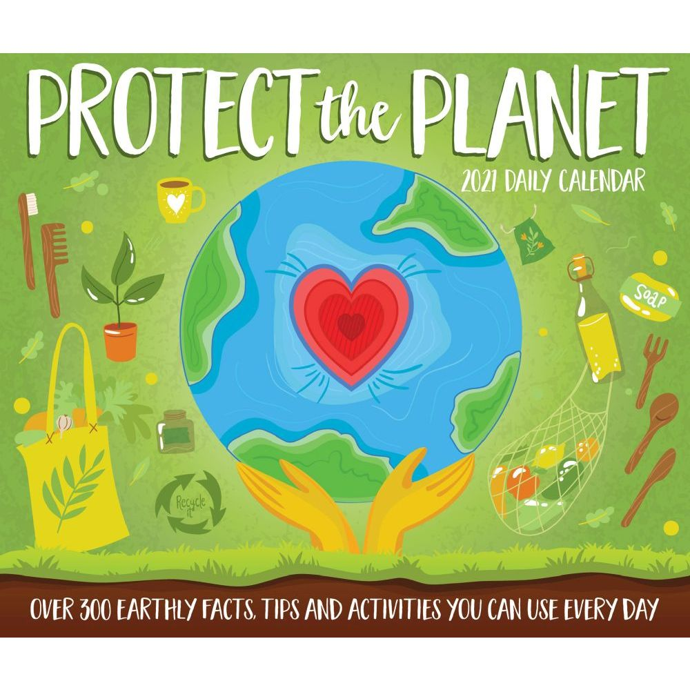 2021 Protect the Planet Desk Calendar