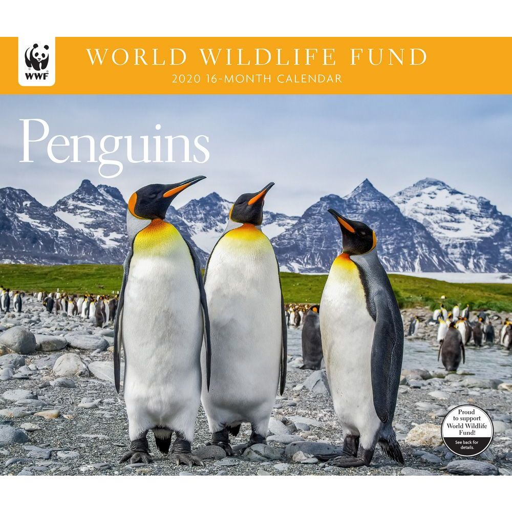 Penguins WWF 2021 Wall Calendar