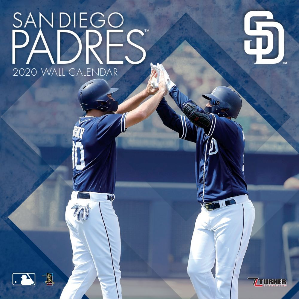 San Diego Padres 2021 Wall Calendar