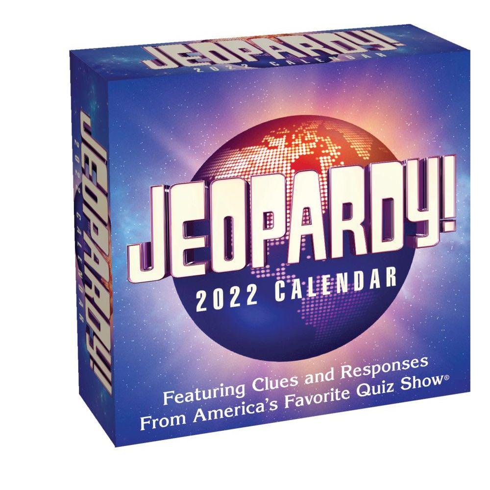 Jeopardy! 2022 Desk Calendar