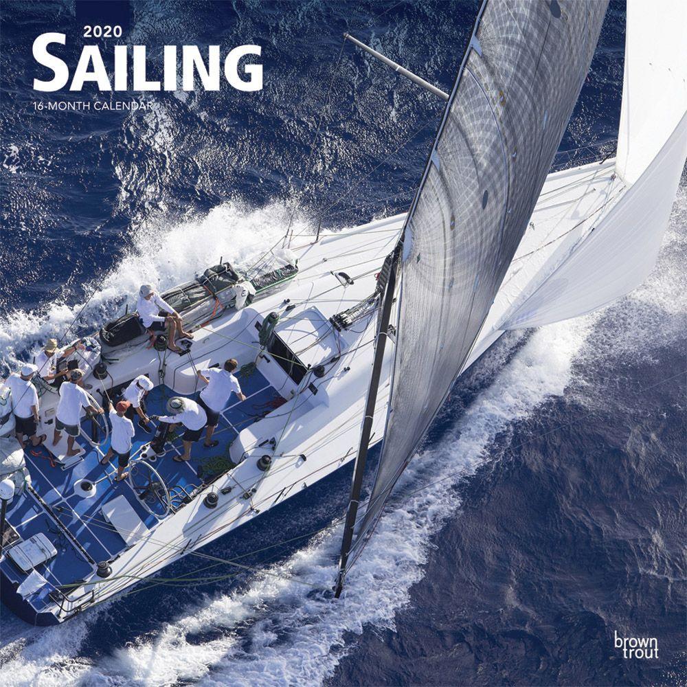 Sailing 2021 Wall Calendar