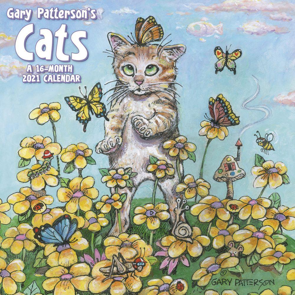 Pattersons Cats Mini Wall Calendar - Calendars.com