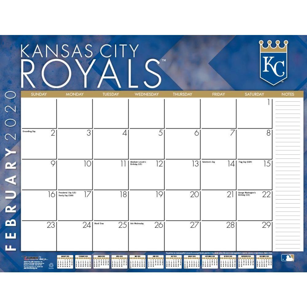 Kansas City Royals 2021 Desk Pad
