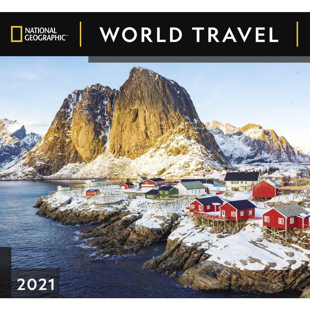 World Travel National Geographic 2021 Wall Calendar