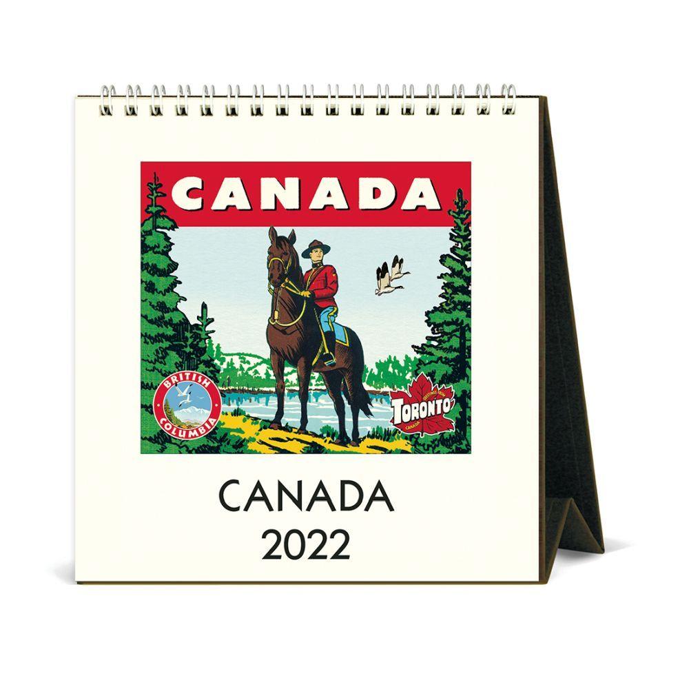 Canada 2022 Easel Calendar