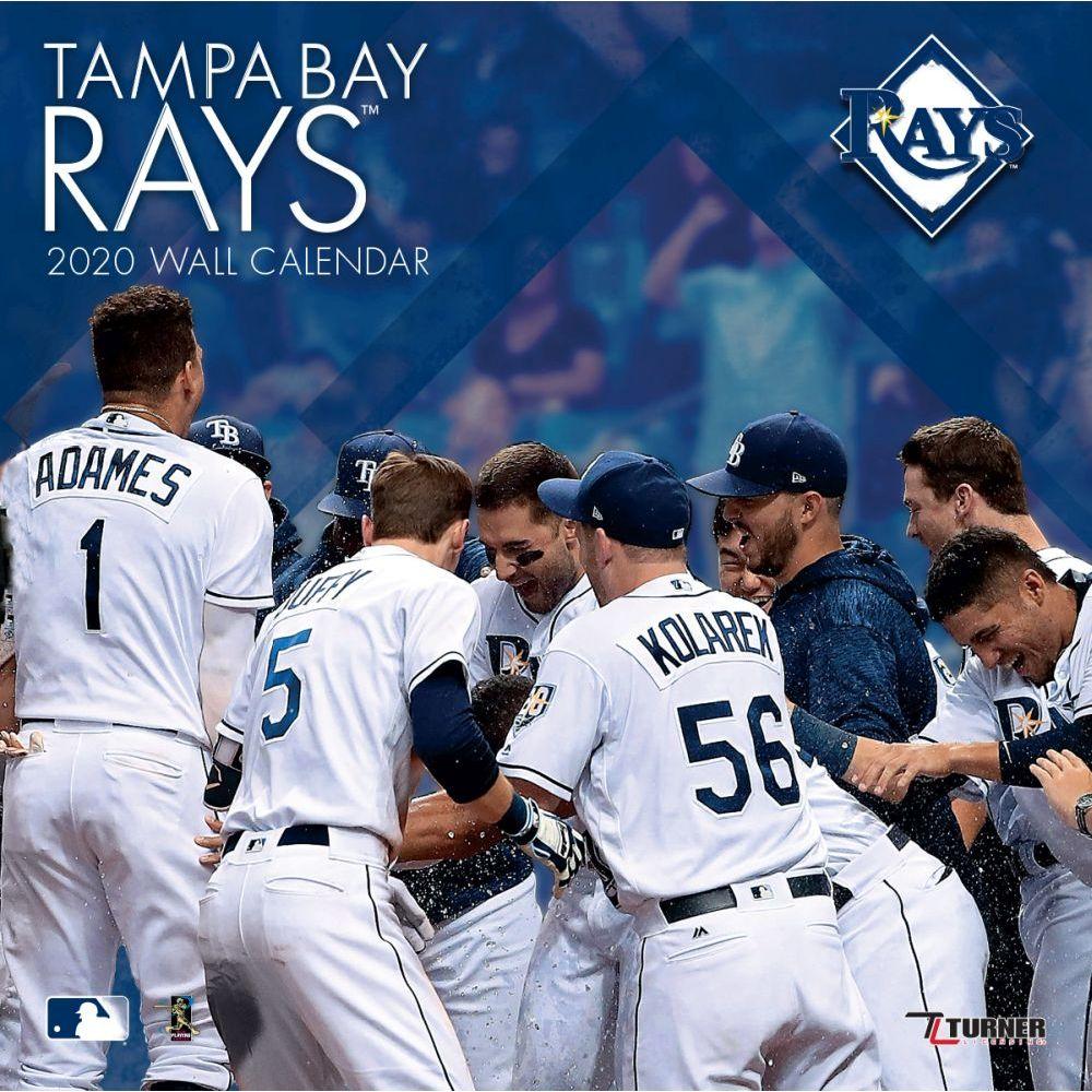 Tampa Bay Rays 2021 Wall Calendar