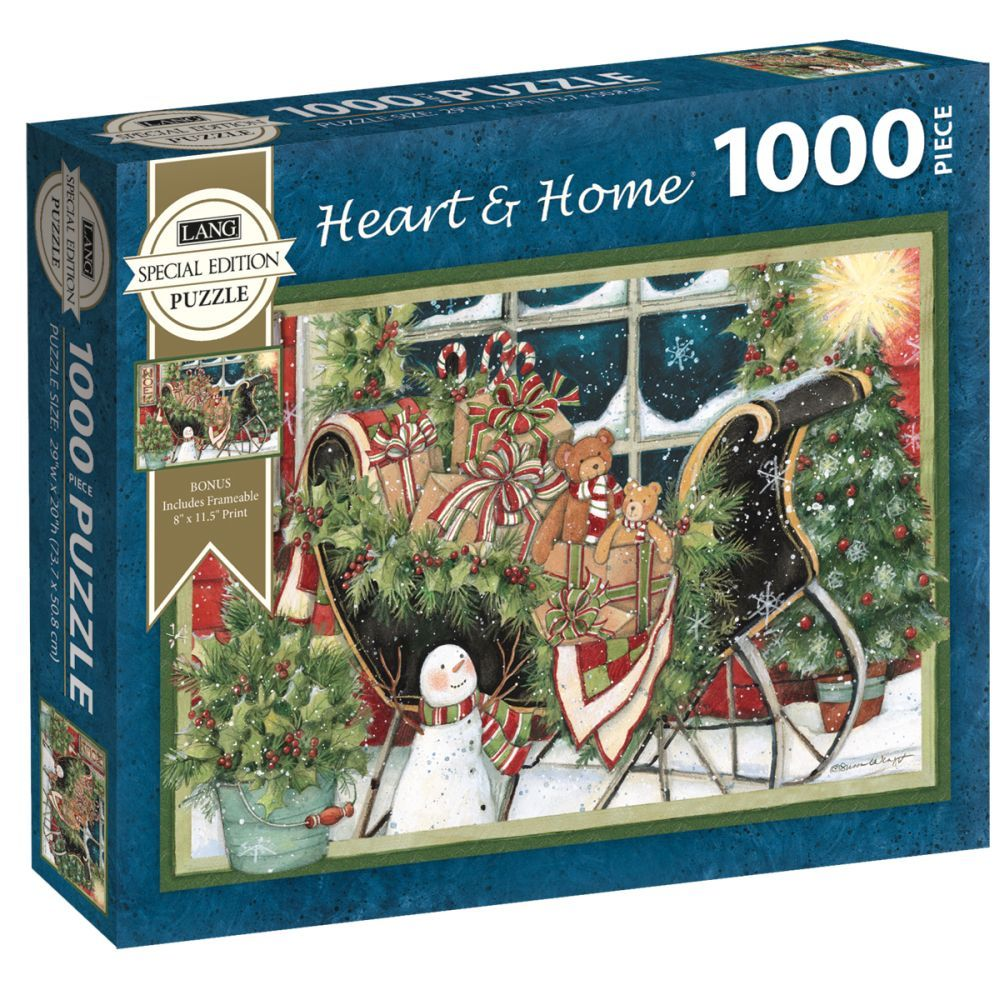 Best Heart & Home Special Edition 1000pc Puzzle You Can Buy