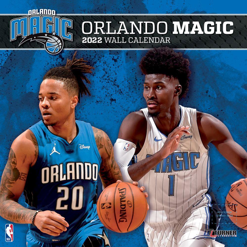 Orlando Magic 2022 Wall Calendar