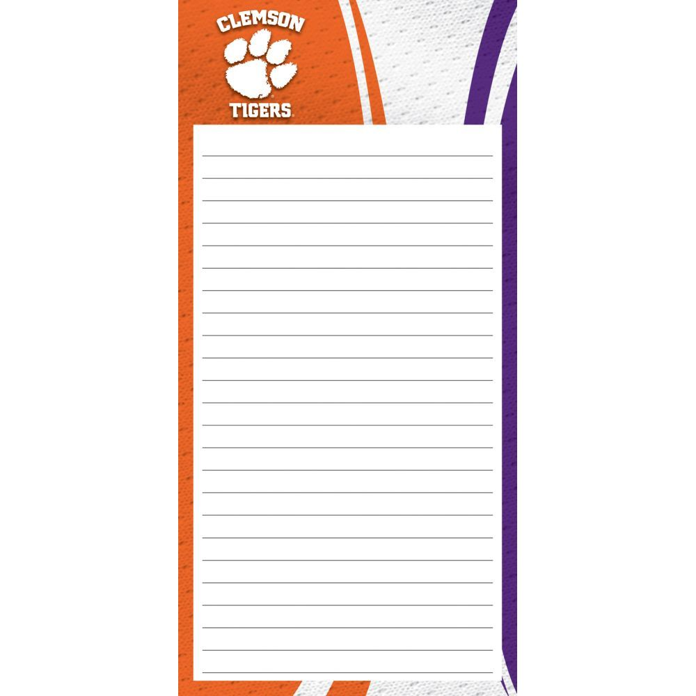 Col-Clemson-Tigers-2pack-List-Pad