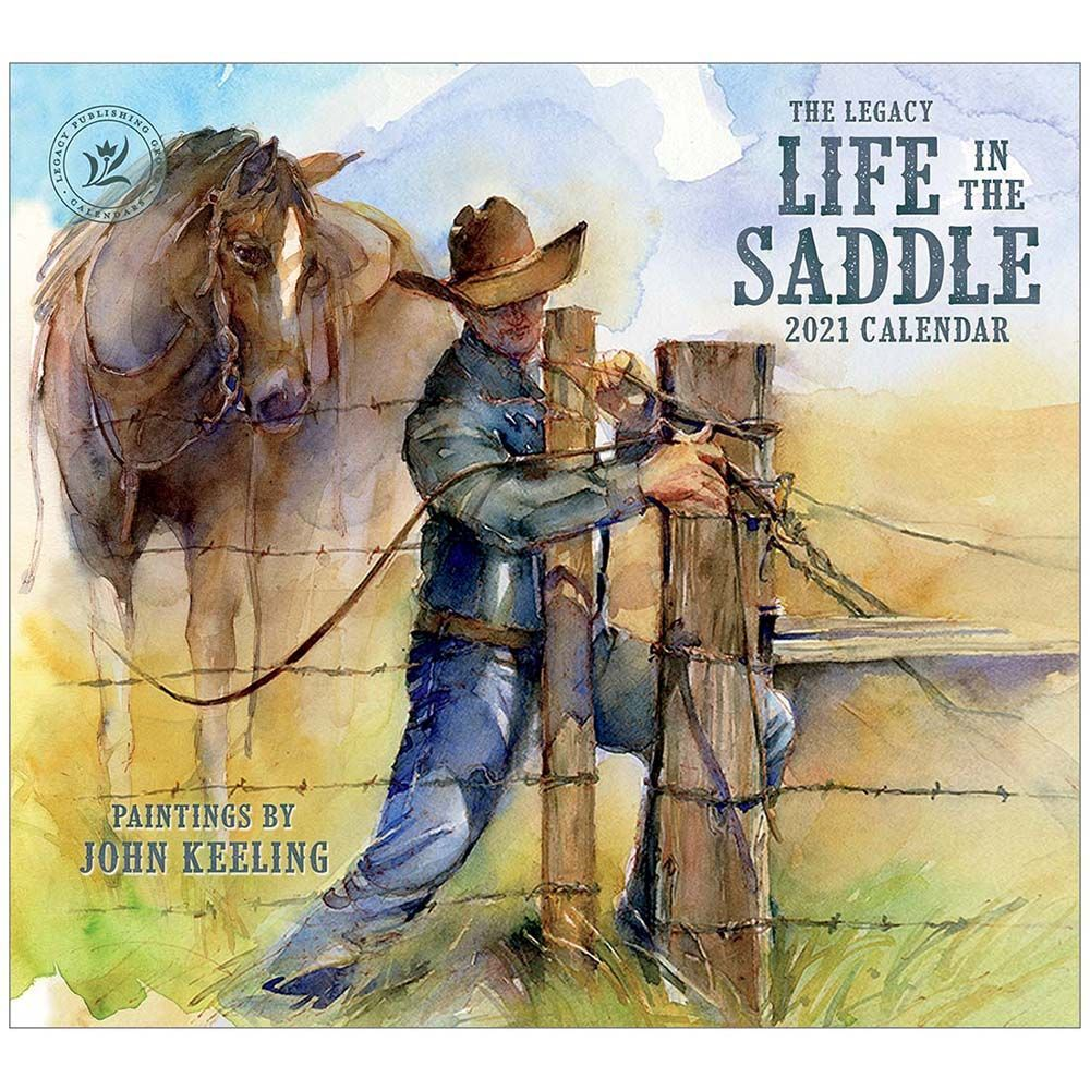 2021 Life in the Saddle Wall Calendar