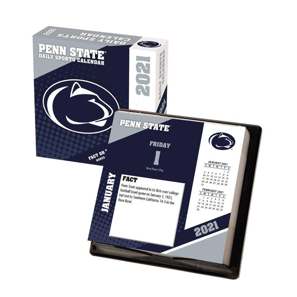 2021 Penn State Nittany Lions Desk Calendar