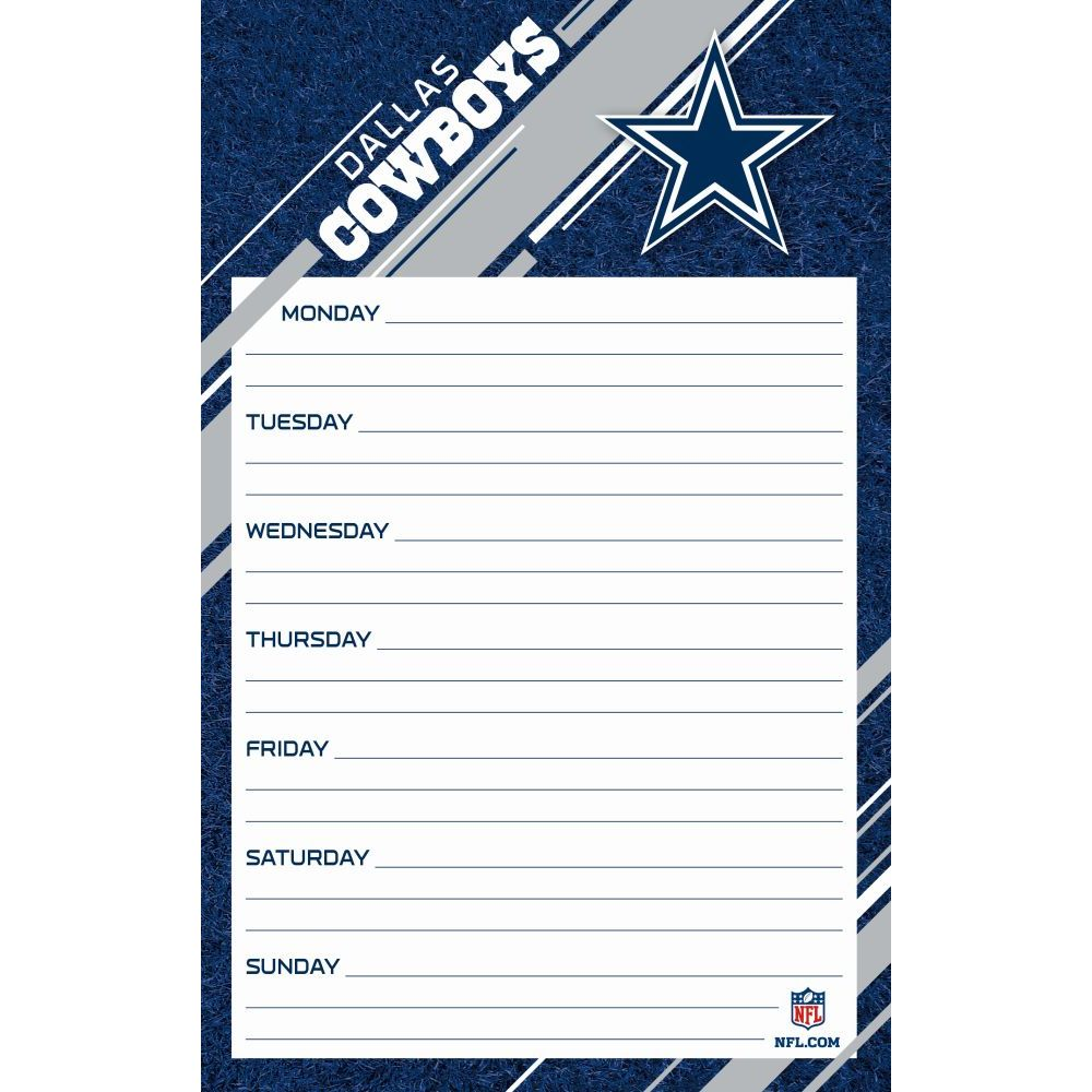 Dallas-Cowboys-Jumbo-Weekly-Planner-1