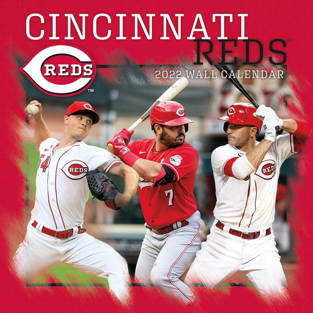 Cincinnati Reds 2022 Wall Calendar
