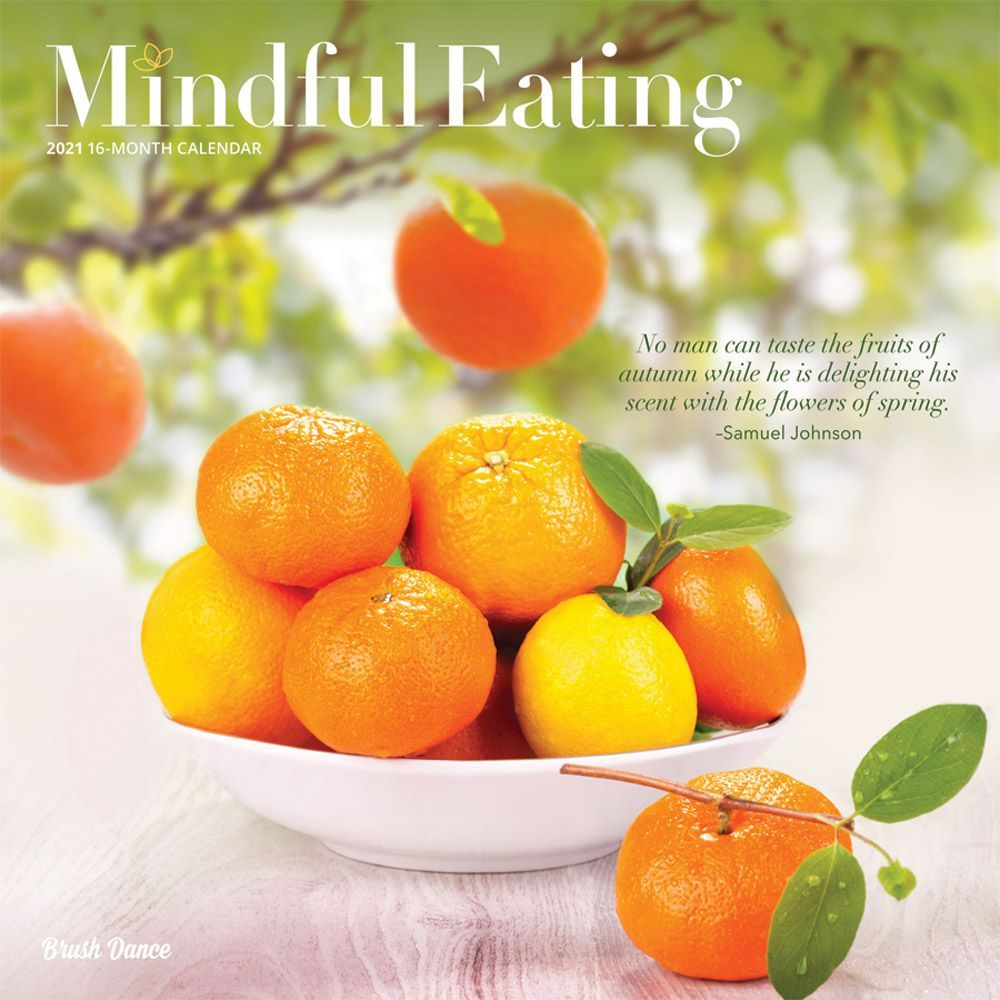 2021 Mindful Eating Wall Calendar
