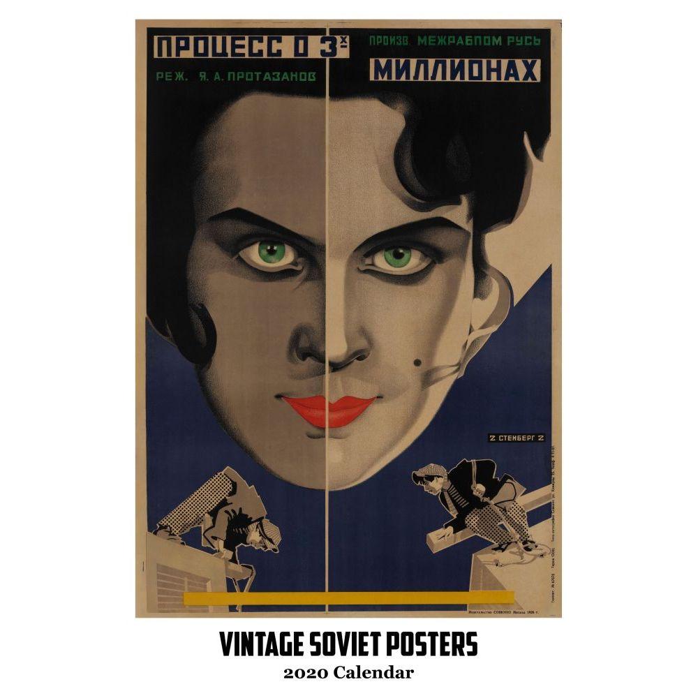 2021 Soviet Posters Vintage Poster Wall Calendar