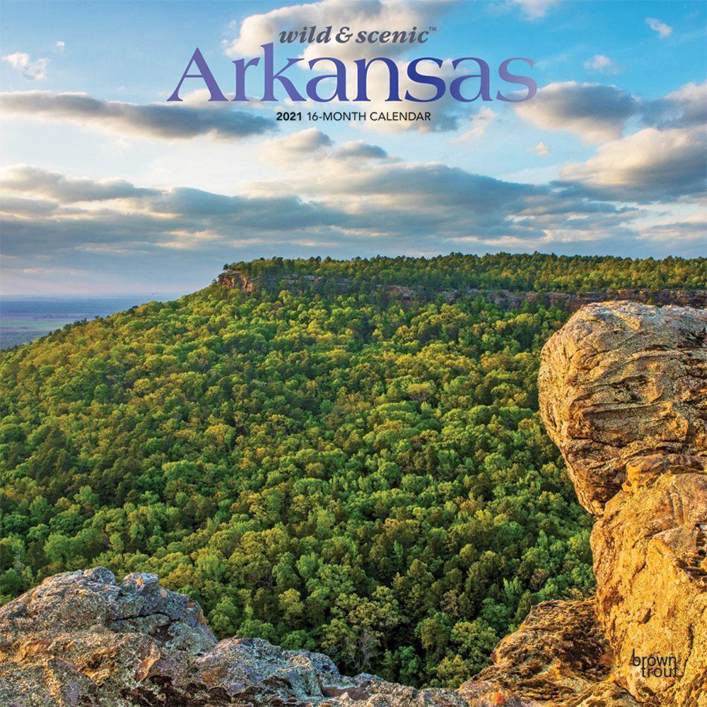 Arkansas Wild and Scenic 2021 Wall Calendar