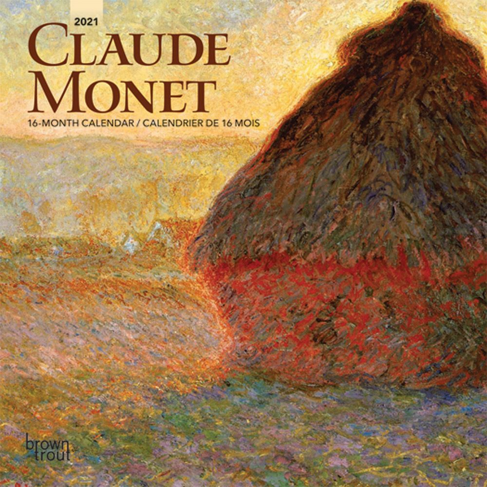 Claude Monet 2021 Mini Wall Calendar