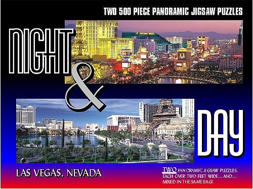 Best Las Vegas Night & Day 2 500 Piece Puzzles You Can Buy