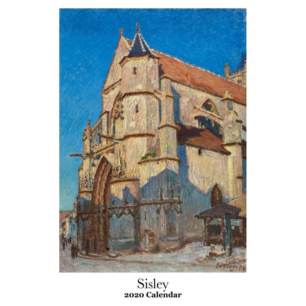 Alfred Sisley 2021 Wall Calendar
