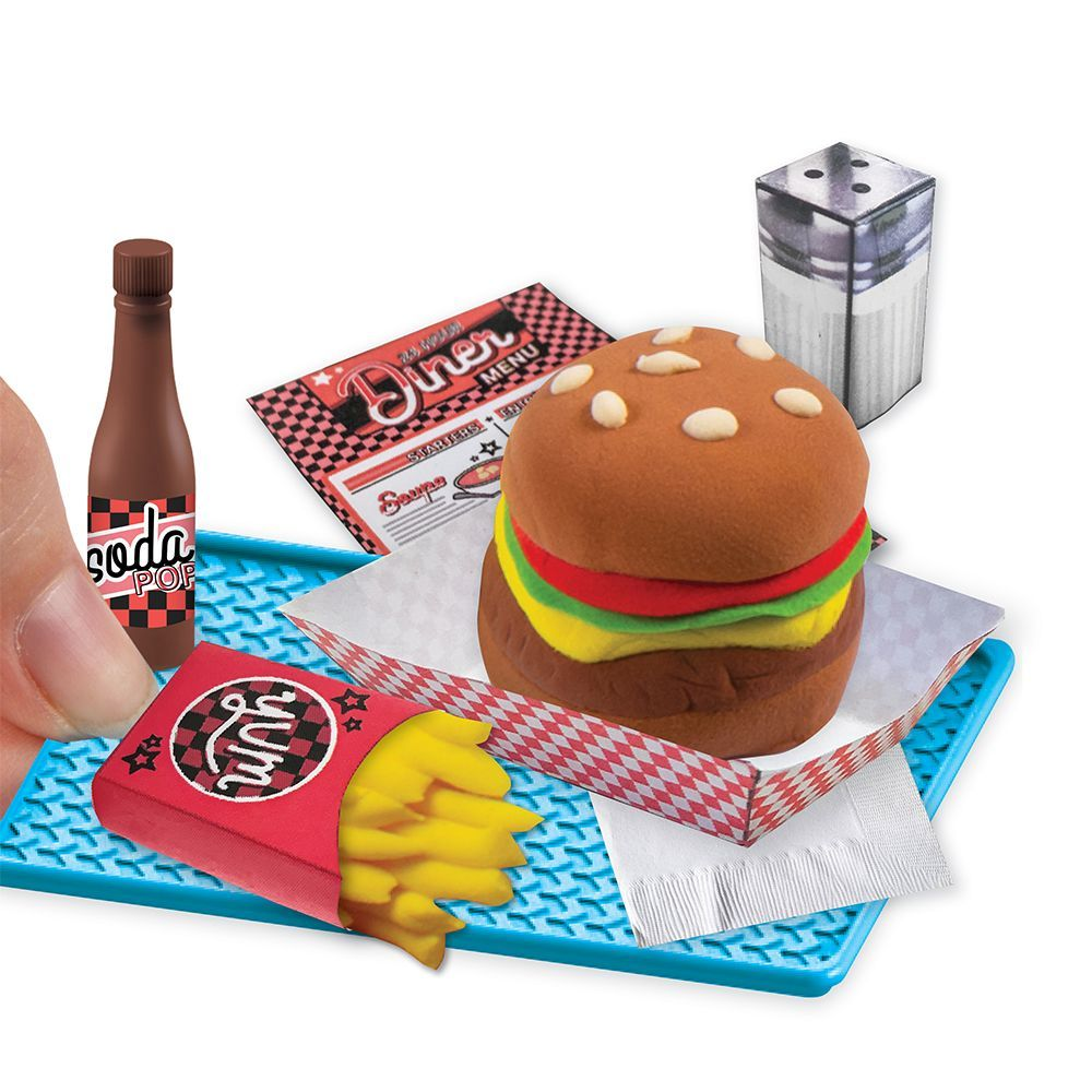 Extra Small Burger/Fries Mini Clay Kit-4