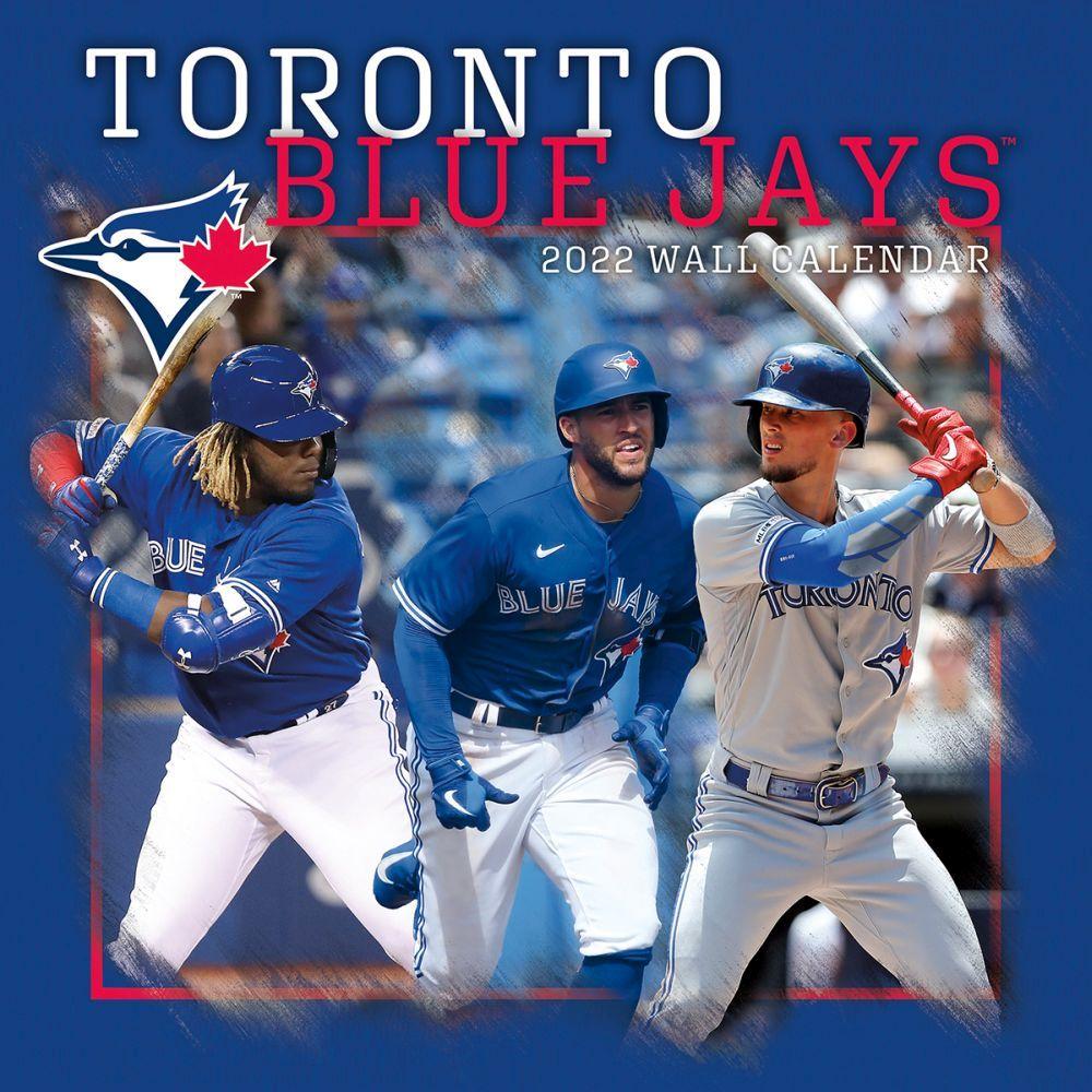Toronto Blue Jays 2022 Wall Calendar