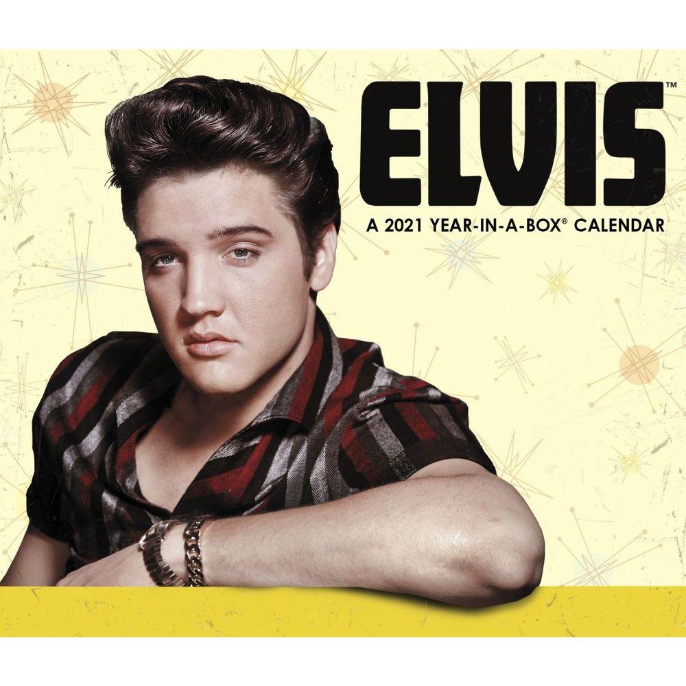 2021 Elvis Desk Calendar