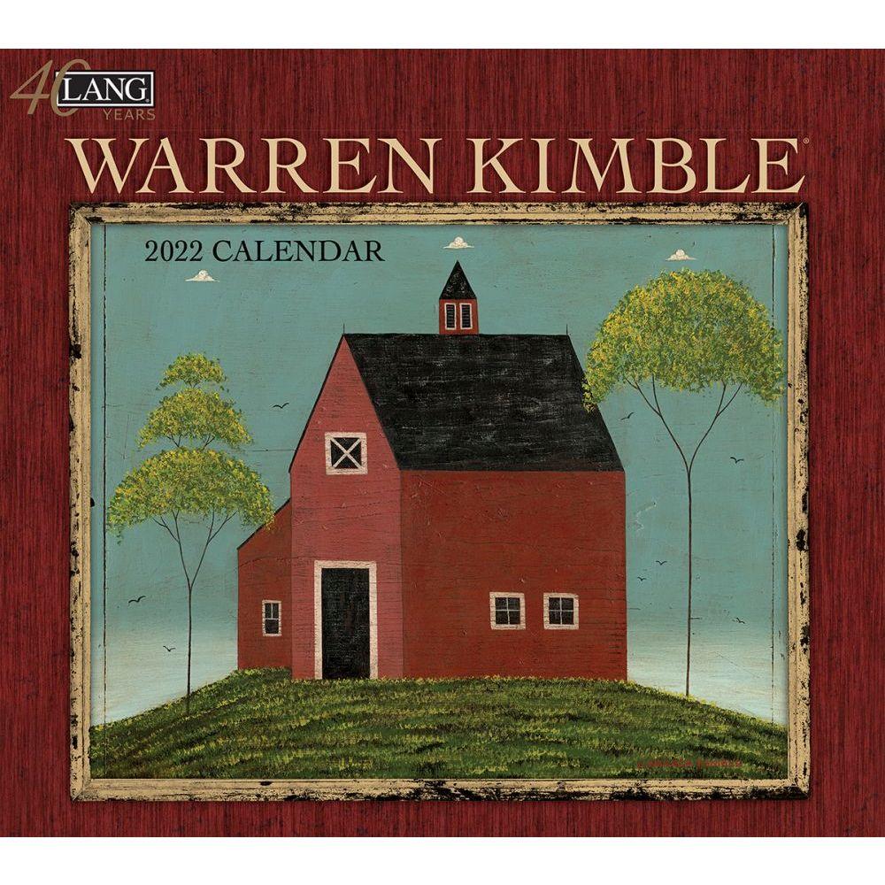 Warren Kimble 2022 Wall Calendar